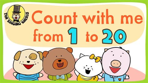 Number Song 1-20 For Children
