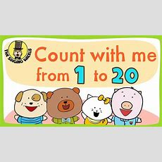 Number Song 120 For Children  Counting Numbers  The Singing Walrus Youtube