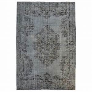 Vintage Teppich Rund : teppich vintage grau vintage teppich antik trendiger ~ Indierocktalk.com Haus und Dekorationen
