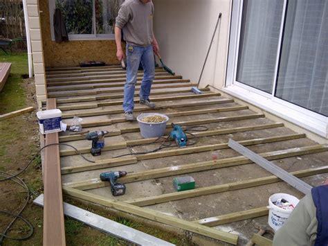 norme hauteur meuble haut cuisine superbe pose de lambourde pour terrasse 6 terrasse bois