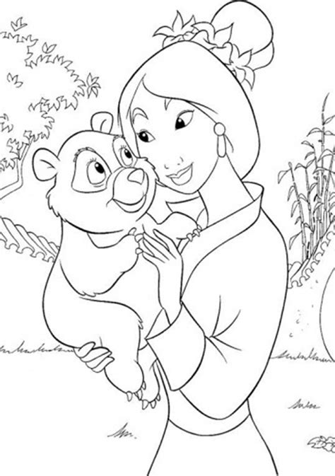 hd mulan coloring pages image coloring pages   kids