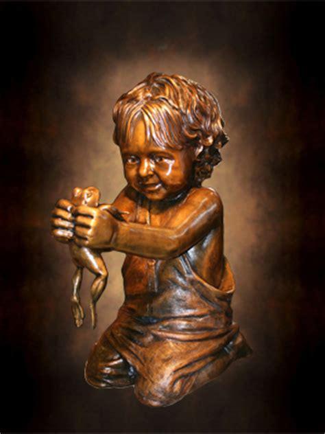 lifesize portrait bronze memorial sculpture statue
