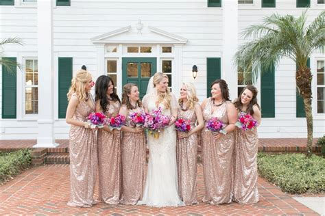 A Chic Plum & Champagne Wedding