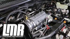 Mustang Gt Bbk Throttle Body  U0026 Plenum Install  1996
