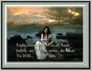 Wiccan Inspirat... Pagan Wiccan Quotes