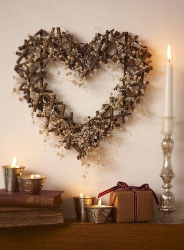 unique heart wreath ideas  pinterest diy mothers