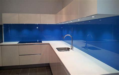 Blue Glass Splashbacks For Kitchens  Google Search