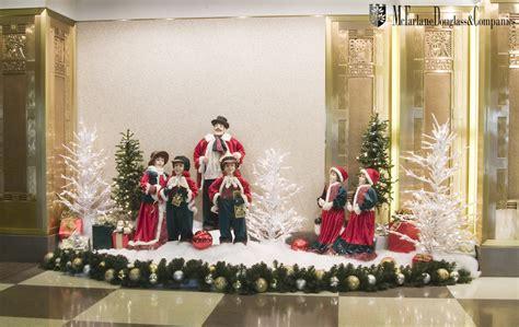 indoor holiday display photos mcfarlane douglass