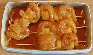 Spieße Selber Machen : curry ananas h hnchen spie e rezept mit bild ~ Watch28wear.com Haus und Dekorationen