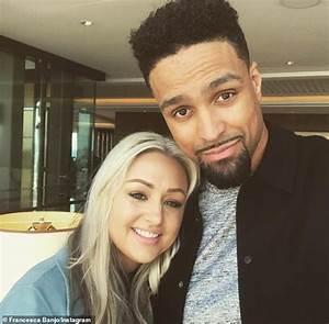 Diversity's Ashley Banjo cradles his wife Francesca's ...