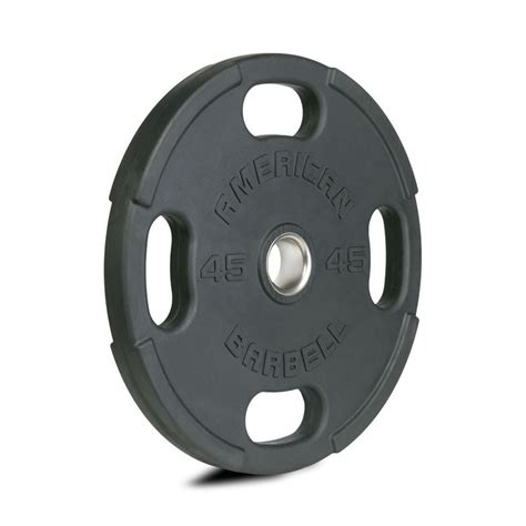 american barbell  slot rubber olympic plates