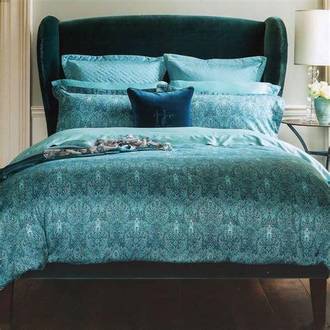 comforter bed sets king henry 1850 alhambra teal blue cotton duvet