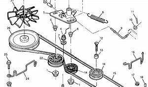 29 John Deere Drive Belt Diagram