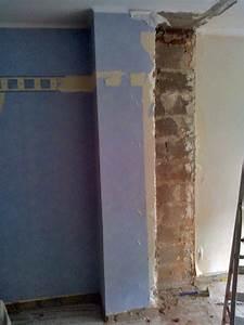 Cheminée En Brique : d truire un conduit de chemin e en brique en toute s curit questions travaux de ma onnerie ~ Farleysfitness.com Idées de Décoration