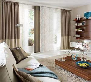 Vorhänge Modern Wohnzimmer : moderne gardinen und vorh nge ~ Markanthonyermac.com Haus und Dekorationen