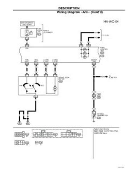auto air conditioning service 2001 nissan altima instrument cluster repair guides heating ventilation air conditioning 2001 description autozone com