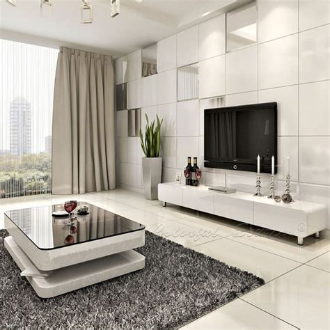 Ideally, this is drawn to scale on a piece of graph paper or using a room design app (ie. 2015 Modern High Gloss White Lcd Tv Cabinet Design - Buy ...