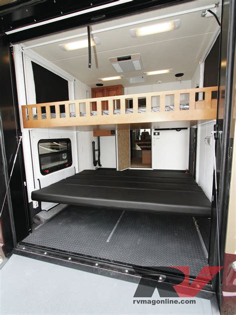 5th wheel cers with bunk beds cyclone 5th wheel haulers 2016 road warrior