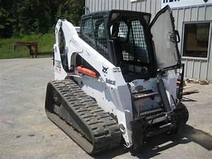 Used 2006 Bobcat T300 W  Forestry Head In Hewitt  Tx