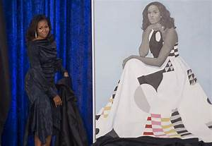 Michelle Obama Met the Little Girl Who Loved Her Portrait ...
