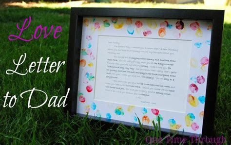 love letter  dad  fathers day kid stuff letter