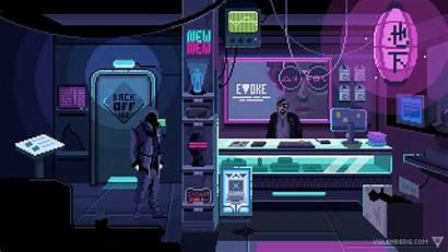Pixel Cyberpunk Anime Imgur Aesthetic Vaporwave Bits