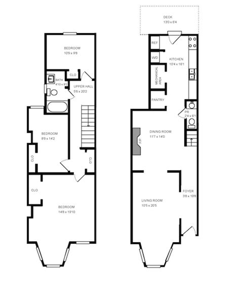 row home plans row home floor plans house design plans