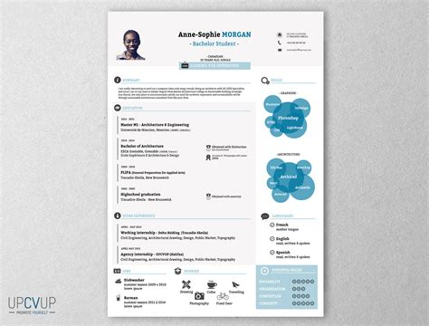 want to your own cool infographic resume go to http