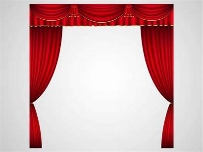 Curtains Theater Stage Clipart Vector Curtain Theatre