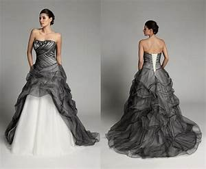black and white wedding dresses all dress With all white wedding dress