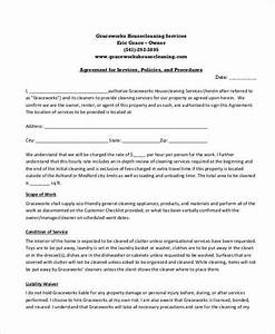 cleaning service contract template pdf templates With office cleaning contract template