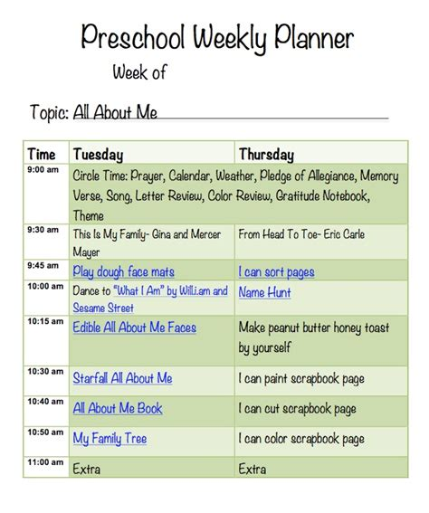 all about me lesson plans for preschool all about me preschool week more excellent me 669