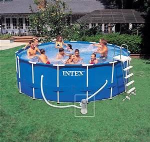Preparation Terrain Pour Piscine Hors Sol Tubulaire : piscine hors sol intex pas cher piscine tubulaire ~ Melissatoandfro.com Idées de Décoration