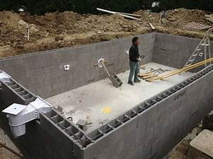 piscine traditionnelle en beton une vision a long terme With construire une piscine en dur