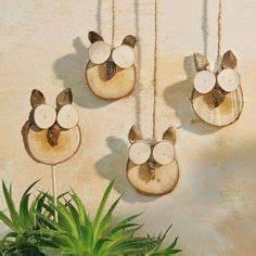 Basteln Mit Baumscheiben : basteln mit holz die 1021 besten bilder auf pinterest in ~ Watch28wear.com Haus und Dekorationen