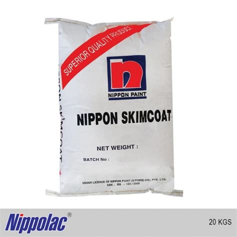 nippolac skim coat white kg