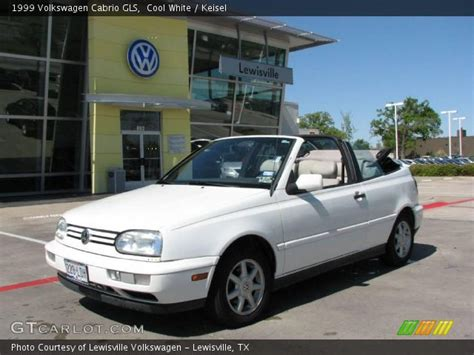 volkswagen cabrio cool cool white 1999 volkswagen cabrio gls keisel interior