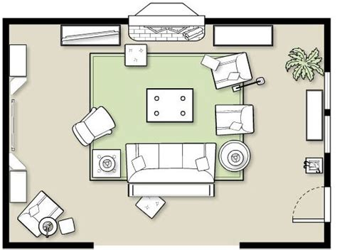 furniture layout planner furniture placement in a large room how to decorate