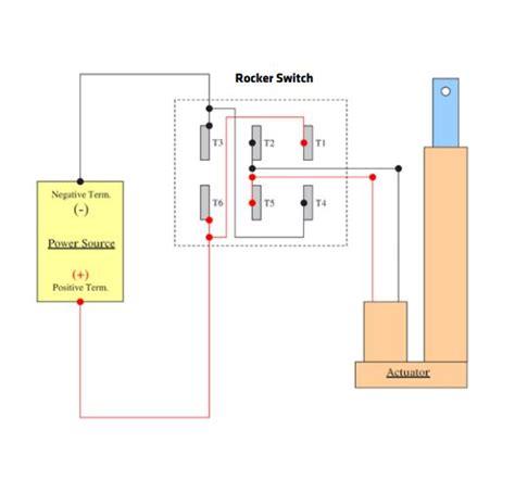 Rocker Switch Joystick Wiring Linear Actuators Steps