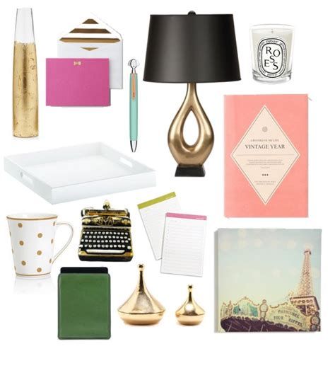 desk sets for her glamorous home office accessories 2012 popsugar home