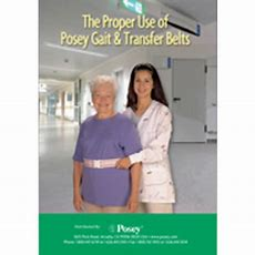 The Proper Use Of Posey Gait & Transfer Belts 8508d  Dvd  Vitality Medical