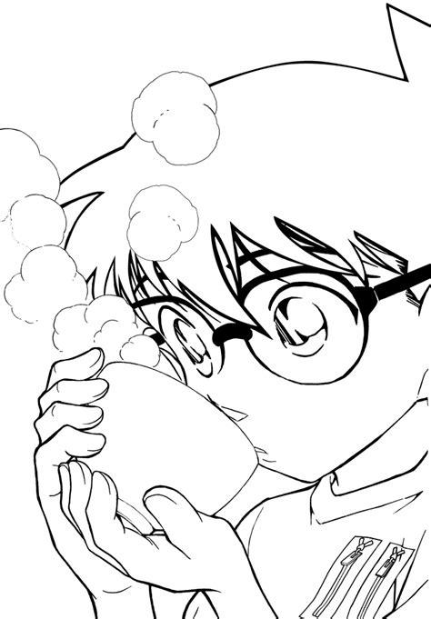 10 Mewarnai Gambar Detective Conan 名探偵コナン 江戸川コナン 青山剛昌 壁紙 Tsundora