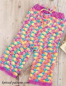 Childu0026#39;s Crochet Leggings