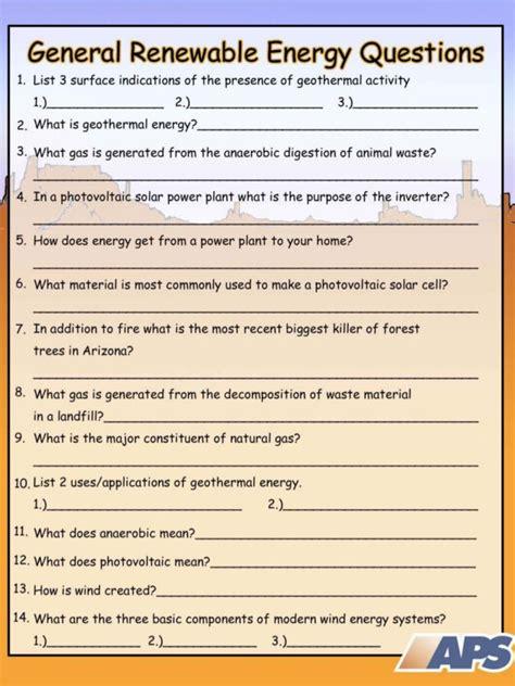 solar energy worksheets middle school solar energy