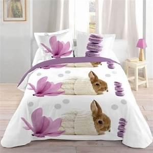 Parure Lit Adulte : parures de lit originales d coration facile pour la chambre coucher ~ Teatrodelosmanantiales.com Idées de Décoration