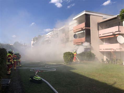 Mehrfamilienhaus Im Moerikeweg In Wernau by Wohnungsbrand In Wernau Rettung Personen 252 Ber