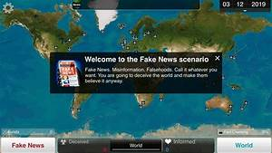 Plague Inc. joins the fight against Fake News! - Ndemic ...
