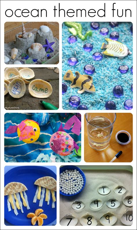 30 fantastic activities for a preschool theme 572 | preschool ocean theme ideas and activities 1