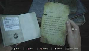 Journal Notes Locations In Uncharted 4