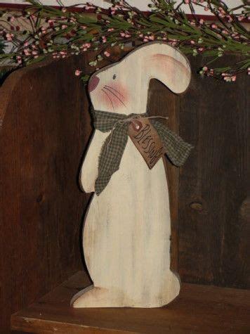 wooden spring items  cute bunnydont